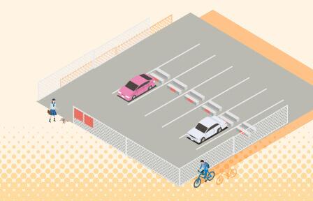 月極駐車場セット